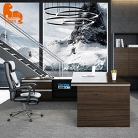 Office supplies modern unique executive desk luxury office furniture boss table
