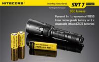 led flashlight nitecore SRT7 tactical flashlight xml l2 led torch self defense products made in china