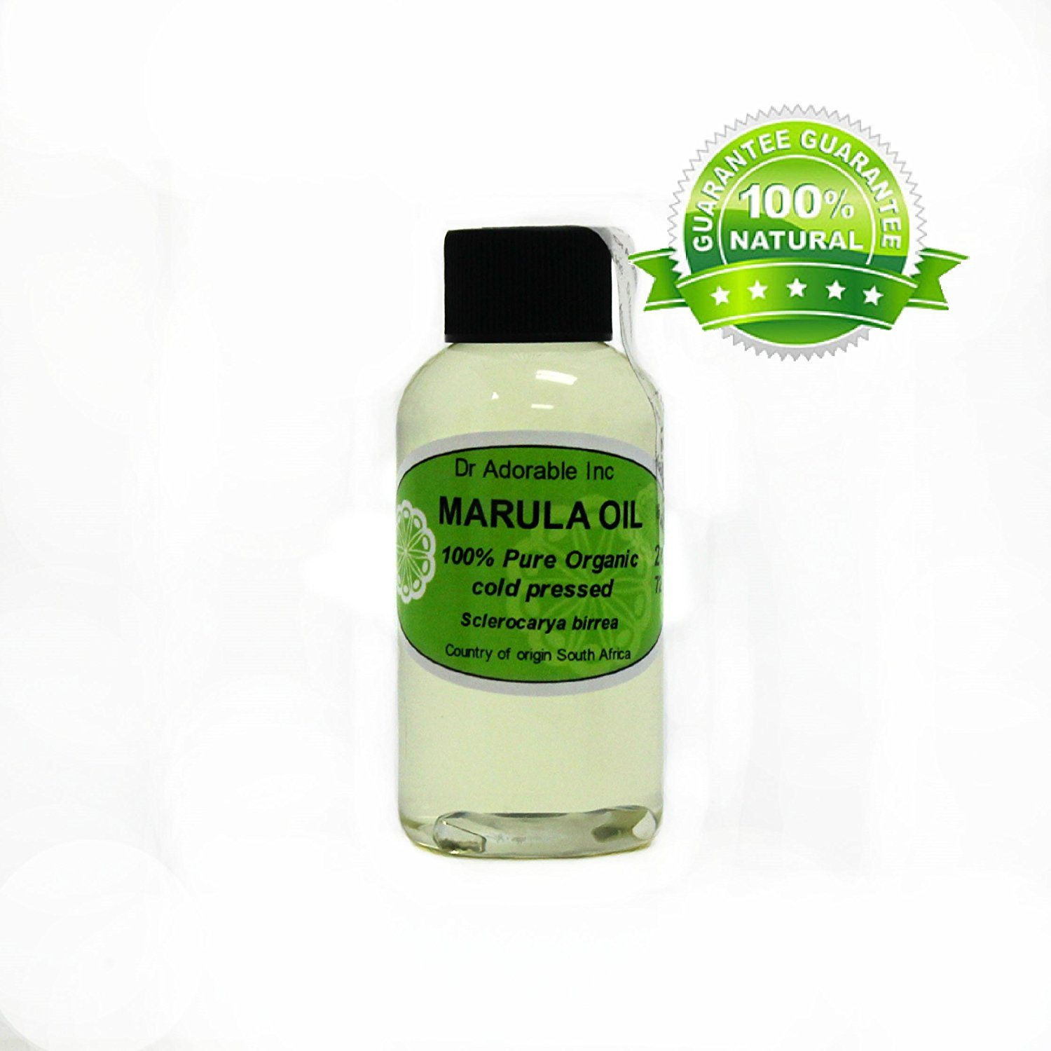 MARULA CARRIER OIL BY DR.ADORABLE 100% PURE ORGANIC COLD PRESSED 2 oz