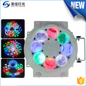 NEW2016 disco dj mini 60w spot 3w led gobo effect 8eyes narrow beam led spot lights stage light