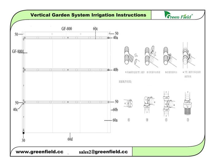Garden Irrigation System,Vertical Garden Planter Irrigation System ... - garden irrigation systems design