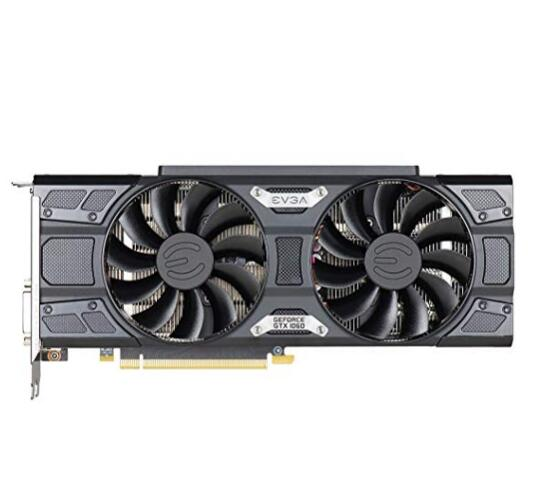 EVGA GeForce GTX 1060 6 GB SSC GAMING ACX 3.0, 6 GB GDDR5, LED, DX12 OSD Ondersteuning (PXOC) Grafische Kaart 06G-P4-6267-KR