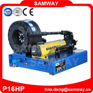 CE multi dimension new products classical small hand hose crimper/crimping machine from SAMWAY P16HP