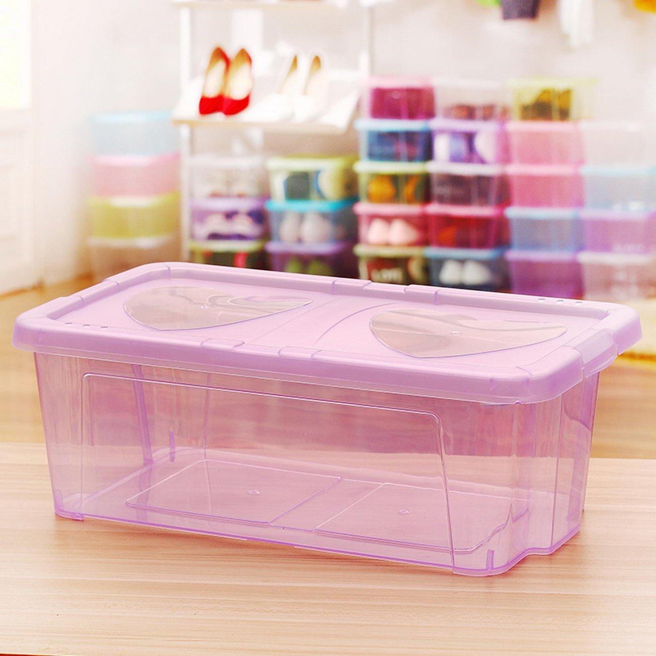 jii2030shann new fashion transparent shoebox shoebox multi stackable storage box home box, transparent shoe box, home supplies, and more storage box, stackable shoe box, creative shoe box