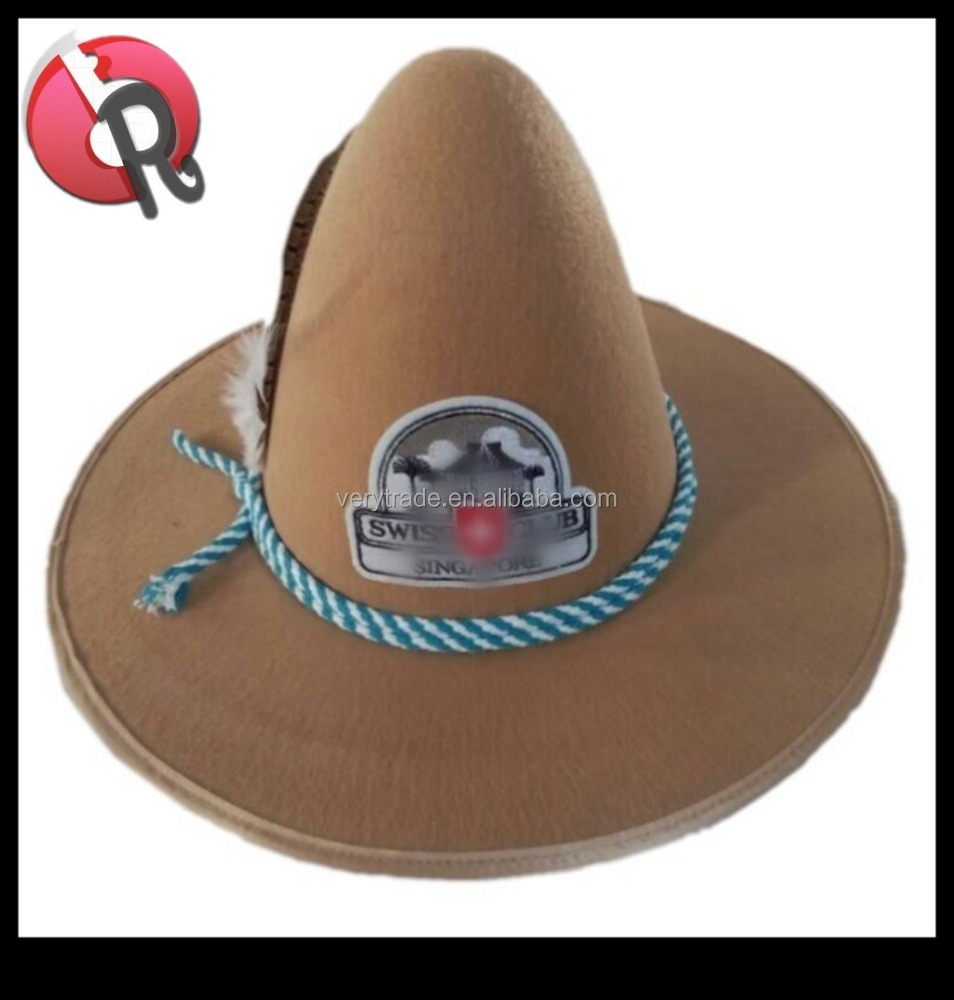 51bd33ace83 Felt Hillbilly Hat