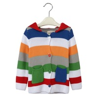 New loose cardigan wool sweater design for baby kids hand knitted designs 2006