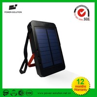 mini waterproof solar power bank portable charger led solar light