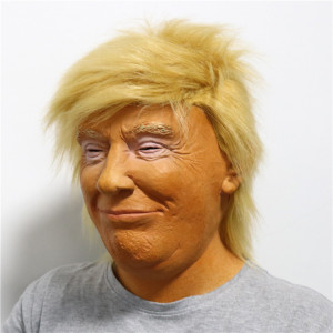 2018 Latex Mask Realistic Halloween Donald Trump