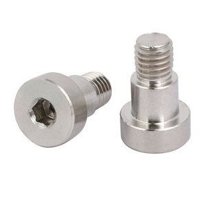 Customized socket square hex flat head carriag shoulder bolt