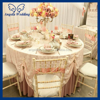 tl002a cheap hot sale elegant polyester ivory wedding embroidered rh alibaba com table linens for wedding decor table linens for wedding reception ideas