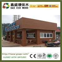 For WPC Garden House Anti-UV exterior wood wall panel