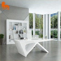 Special design industrial style office furniture executive office desk