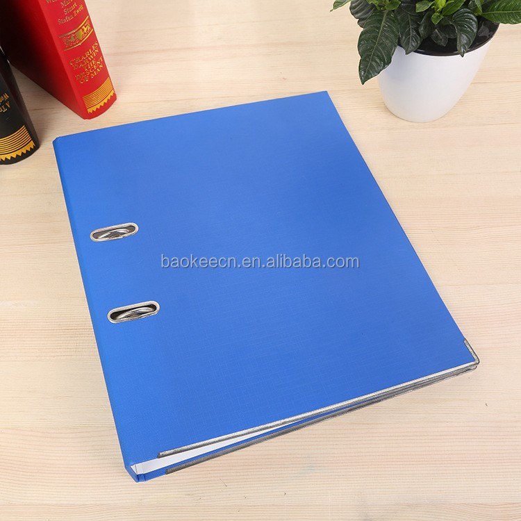Office stationery a4 lever arch file folder with metal fastener
