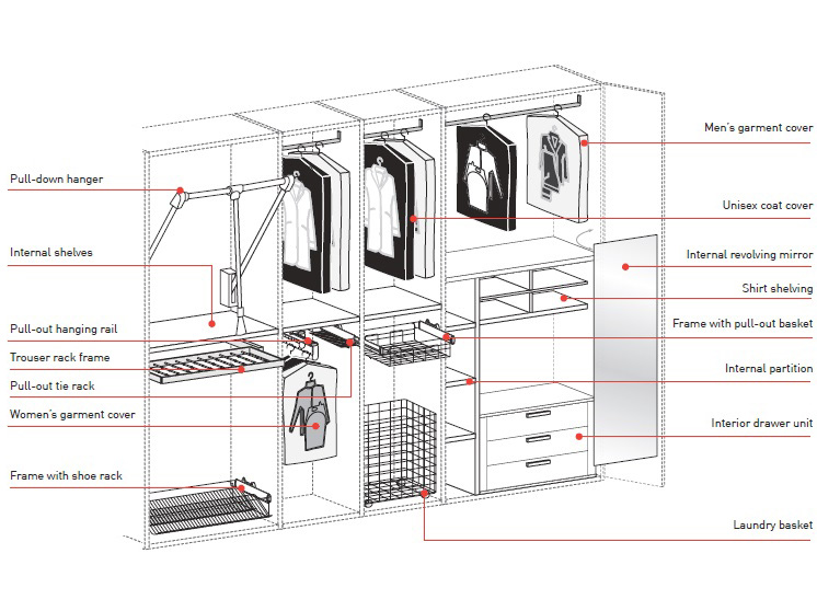 Custom Lowes Open Design Portable Armoire Wardrobe Clothes Closet