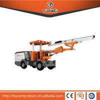 Geotechnical mud drilling rig machine for air compressor