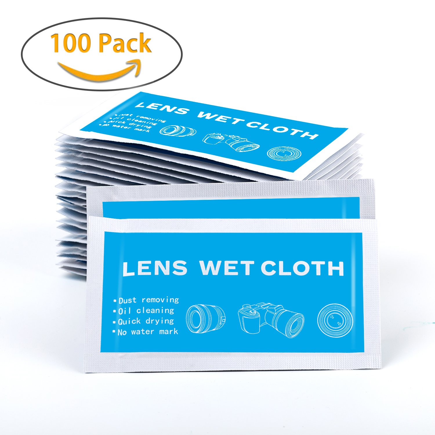 59376beb3c YIYAYIYAYO Screen Cleaning Wipes - 8 x 5 Inch Pre-Moistened Lens Cleaner  Wipes for