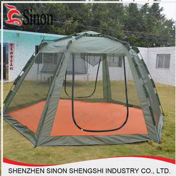 portable beach sahde haxegon tent foldable mosquito net gazebo tent & Portable Beach Sahde Haxegon Tent Foldable Mosquito Net Gazebo ...