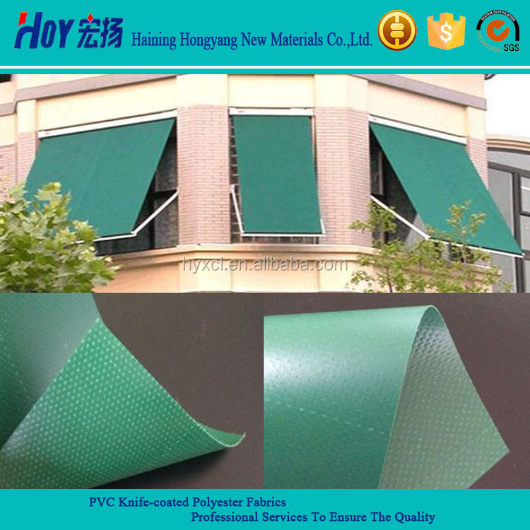 PVC Fabric/ PVC Coated Tarpaulin For Awning & Canopy Used