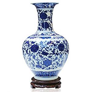 ufengke®Blue And White Porcelain Vase Online Shop