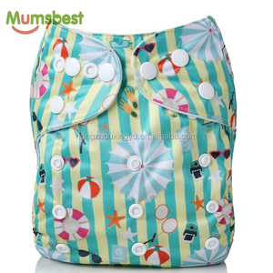 Mumsbest Summer Beach Baby Pocket Cloth Diaper