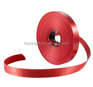 Wholesale Slit Edge Single Face Red Ribbon