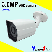AHD cctv camera 3.0MP surveillance systems Bullet model 3.6mm board lens