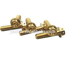 CNC machining turning precision parts Brass Terminal Blocks weight of bolts 8.8 With Best Quality And Low Price