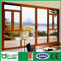 Europe design aluminum clad wood casement door