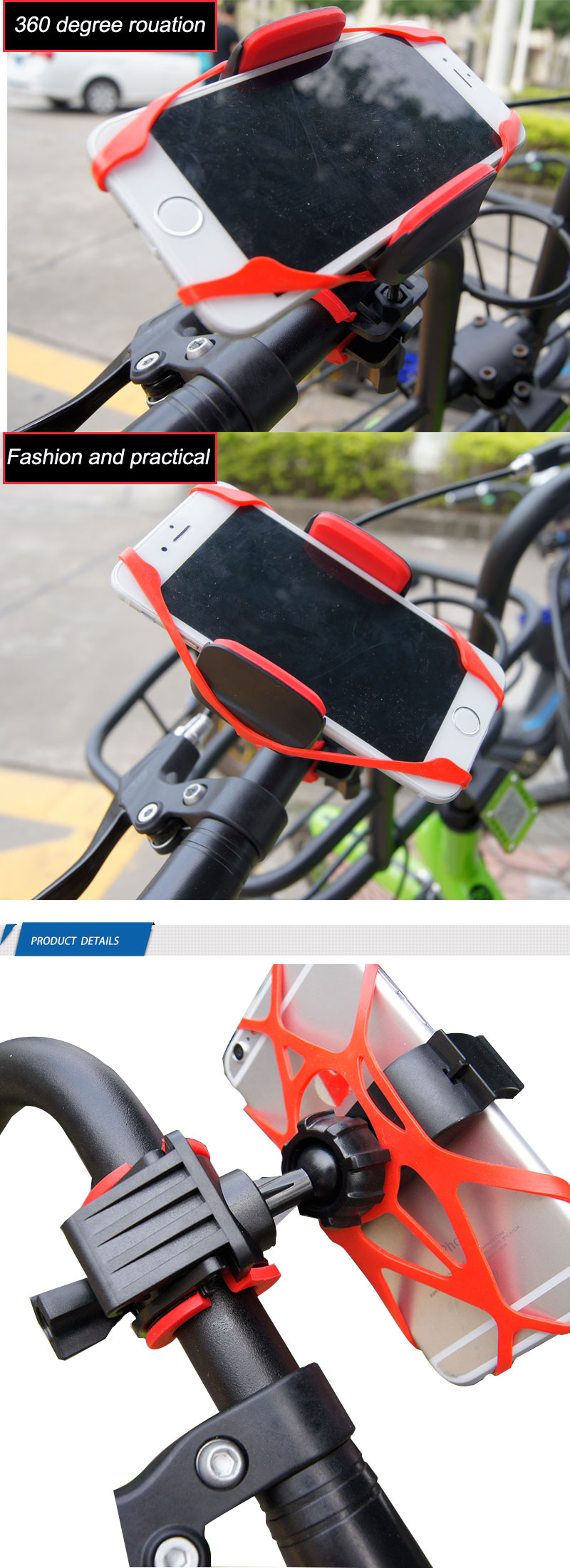 2019 Amazing Classicly China Bicycle  bike Cell Phone  Bike Accessories Universal Phone Holder phone accessories