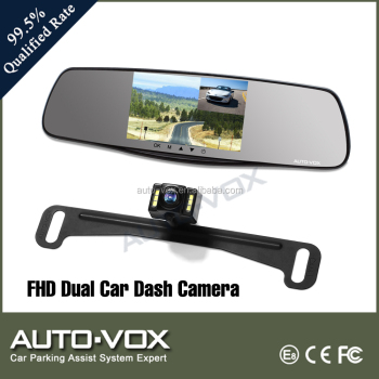 5.0'' IPS HD Screen full hd 1080p car cam recorder with g-sensor