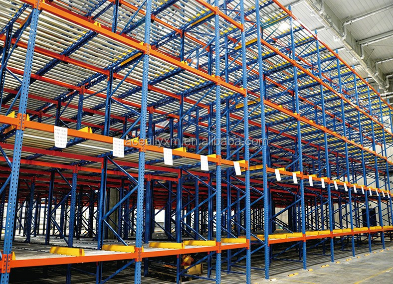 Warehouse Pallet Flow Racking Live Storage Rack