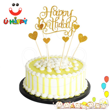 Plastic Happy Birthday Cake Topper Whole Suppliers Alibaba