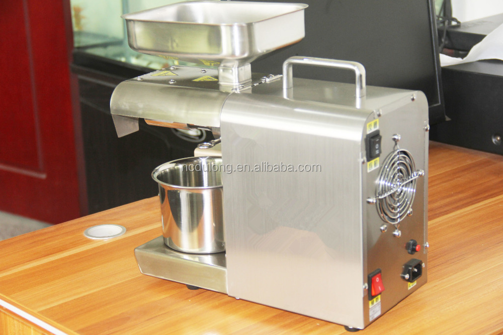 High Extraction Rate Home Olive Oil Cold Press Machine Dl