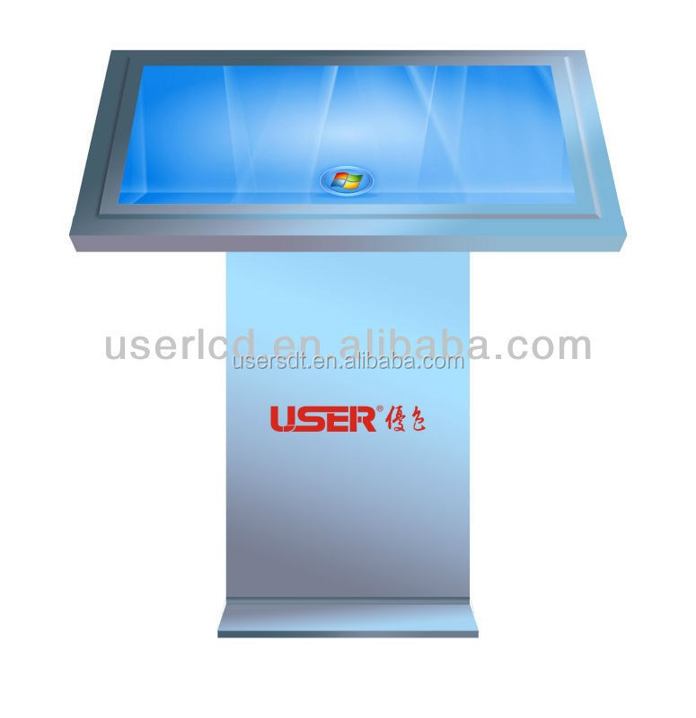 42 inch High quality multi function Interactive Kiosk/multi touch screen kiosk