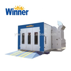 M3200A Automobile Used Car Paint Spray Booth with CE Baking Oven