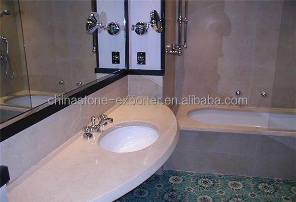 Decoratie Badkamer Muur : Badkamer muur decoratie natuursteen beige marmeren tegel platen