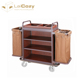 Hotel Guest Room Housekeeping Service Trolley Cleaning Cart