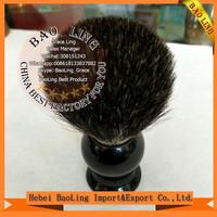 Shaving Brush Set Cleaning Tool Shaving Frame Base + Soap Bowl + Bristle Hair Shaving Brush