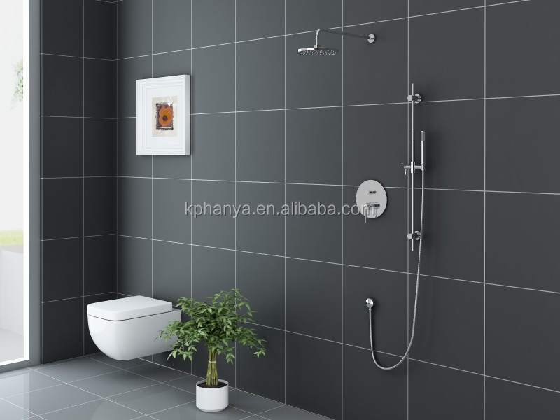 Round In-wall Concealed Shower Faucet Bathroom Shower Mixer Tap With ...