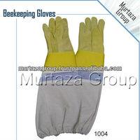 Cowhide Leather Bee Gloves, Beekeeping Gloves, Leather Beekeeping Gloves, Protective Clothing, Small Animal Handling Gloves.