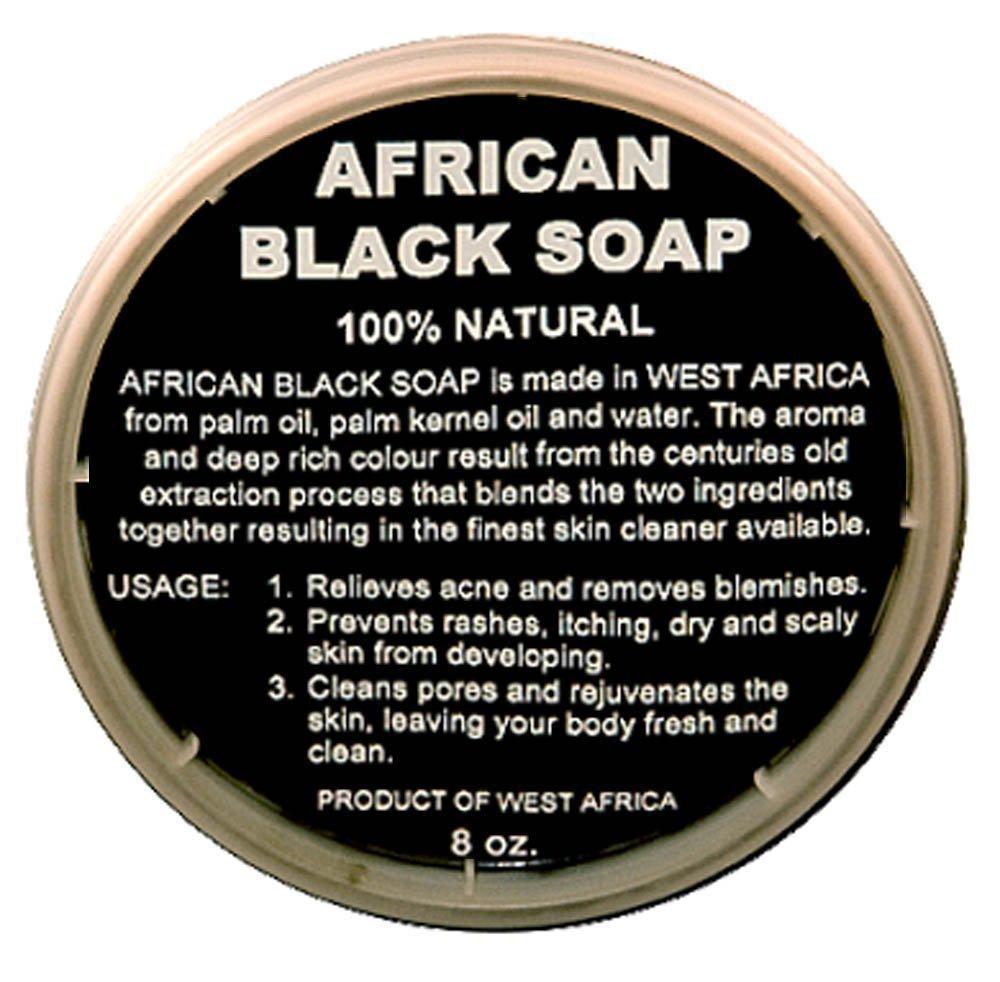 100% Natural African Black Soap Selection !!! (8 Oz Liquid Soap)