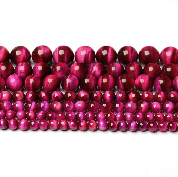 Wholesale Natural Rose Tiger Eye 14mm Stone Beads