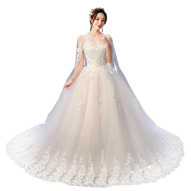 فساتين زفاف LSYNM098 الأعلى مبيعاً بتصميم أنيق ورخيص من الدانتيل لحفلات الزفاف