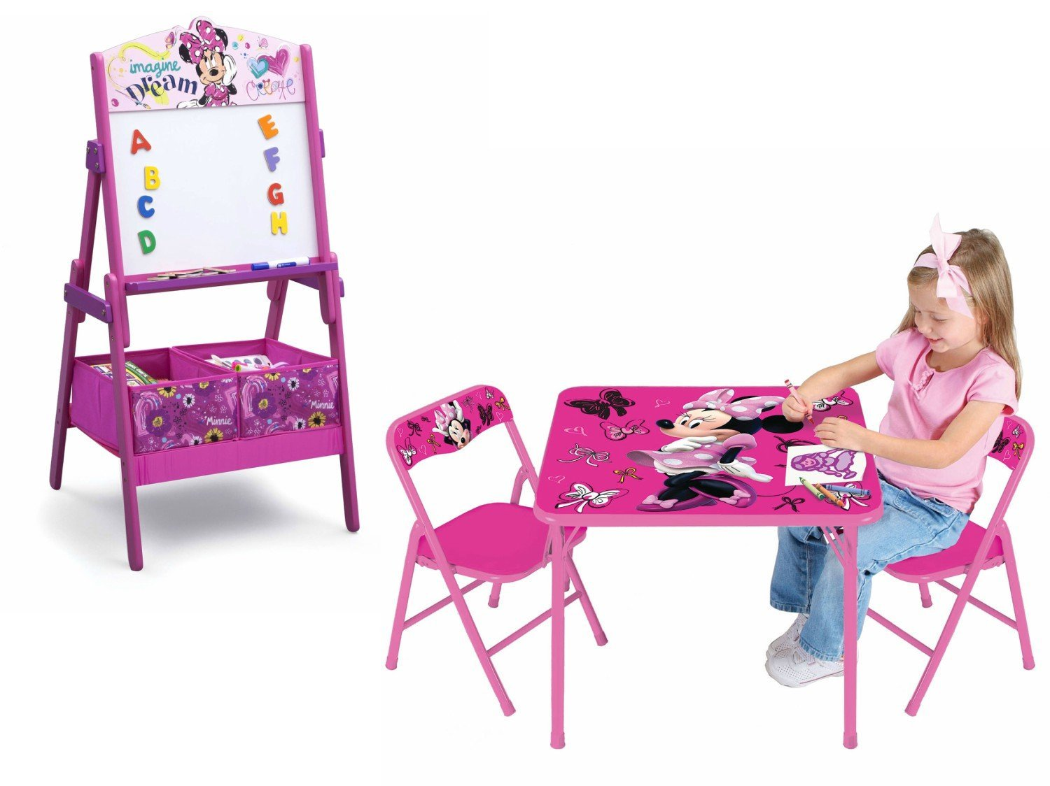 Pleasing Buy Minnie Mouse Kids Furniture Activity Table Chair Play Pdpeps Interior Chair Design Pdpepsorg