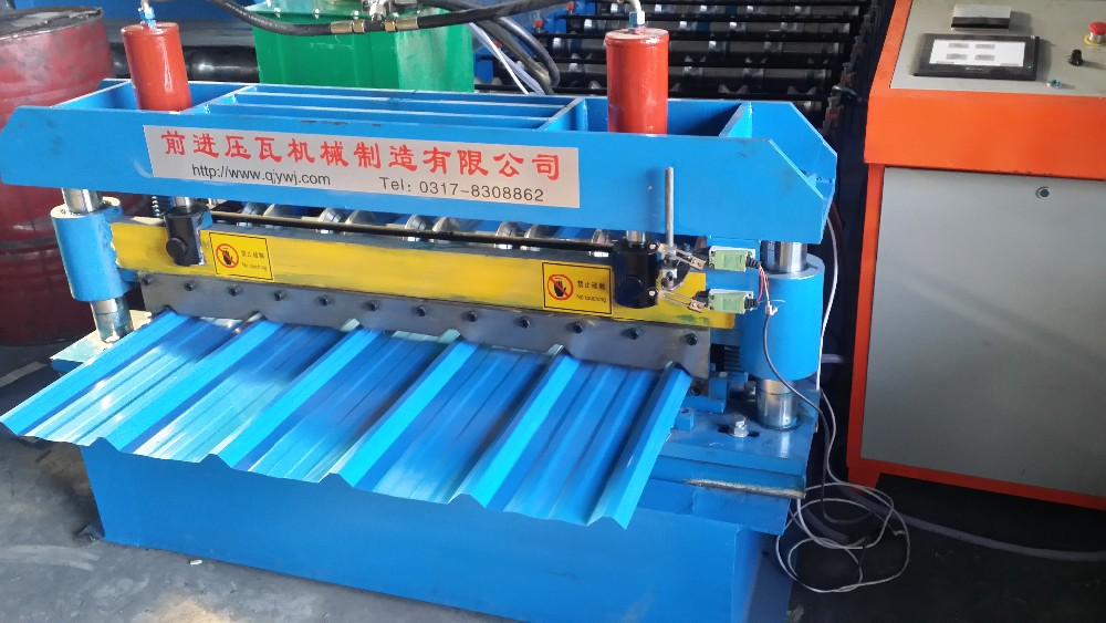 Construction Engineering Machinery Steel Wall And Roof Panel Roll Forming Machine