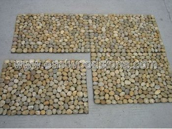 Stone Shower Mat - Buy Stone Shower Mat,Outdoor Stone Mat,Pebble ...