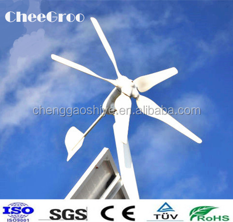 Mini 5 Blades 800W Power Bank Wind Turbine/ Wind Mill/ Wind Power for Home Use