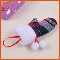 Mini Gloves Christmas Hanging Decoration for Tree Ornament
