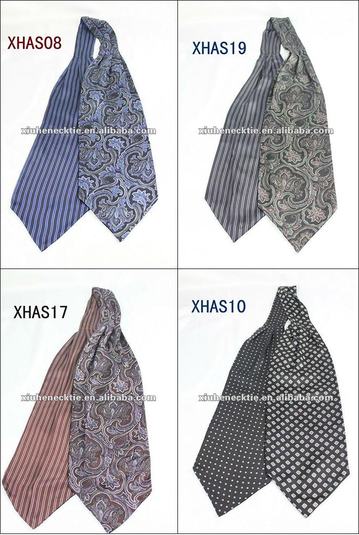 100 Silk Fancy Ascot Cravat Tie For Men Buy Ascot Cravat Tie