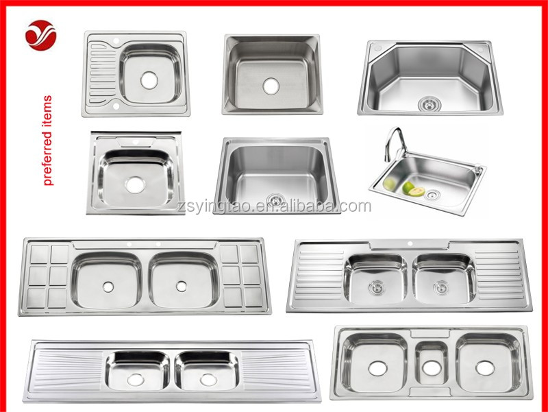 Sri Lanka Single Bowl Sink With Drainboard,Factory ...